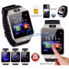 2016 Cheap Wholesale gran promoción Bluetooth Reloj inteligente con pantalla táctil LCD Reloj deportivo para iPhone/para el Samsung