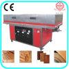 Carpintería de PVC / papel / membrana de vacío Presione máquina laminadora