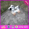 Игрушка оптового младенца 2016 деревянная Moving животная, игрушка смешных малышей деревянная Moving животная, деревянная Moving животная игрушка W05b141