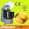 50kg de massa Misturador Espiral/ misturador de massa em espiral para mistura de farinha de cozinha