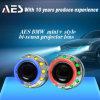 La lente del proyector de Headhid Bixenon del coche de H4 H7 con ángel doble Eyes el anillo