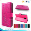 Folio Leather Stand Protective Wallet Cover Case for Blu Life Play Mini L190u