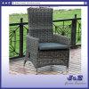 옥외 정원 등나무 가구, 놓이는 4mm 둥근 고리 버들 세공 탱고 조정가능한 의자 (J0331-R)