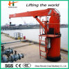 Hydraulic Telescopic Booms 1t를 가진 바다 Crane
