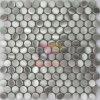 円形の銀製カラー金属のモザイクステンレス鋼のモザイク(CFM822)
