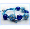 2017 de Nieuwe Blauwe Geparelde Armband van de Stijl