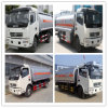Dongfeng 4*2 Mini Fuel Tanker Truck con Top Service