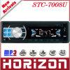 Joueur de MP3 fixe de voiture de panneau, tension 12 de radio de STC-7008U FM (la recherche automatique et stockent 18 stations)