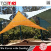 Triangle Patios Shade Cloth imperméable à la vapeur