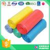Bolsos de basura disponibles del HDPE del hogar plástico
