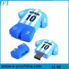 Roupas de futebol personalizadas de forma a unidade flash USB Pendrive (GE03-B)