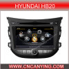 GPS를 가진 Hyundai Hb20, Bluetooth를 위한 특별한 Car DVD Player. A8 Chipset Dual Core 1080P V-20 Disc WiFi 3G 인터넷 (CY-C239로)