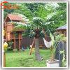Palmeiras artificiais plásticas do coco da decoração ao ar livre