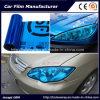 Self-Adhesive глубокий голубой винил подкраской автомобиля пленки фары автомобиля цвета снимает 30cmx9m