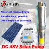 水太陽電池パネルDCのための太陽試錐孔ポンプ1馬力ナイジェリアの太陽水ポンプ