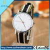人の普及した安い水晶ナイロン腕時計のステンレス鋼OEMの腕時計の製造業者の卸売のDwの腕時計の人