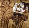 Pittura a olio decorativa di Deco e di Dafen Waterlilly