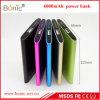 6000mAh Bank van de Macht van het metaal de Mobiele