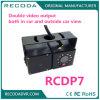 金属の箱防水IP68車の逆1.3MPの二重レンズのカメラ