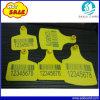 Modifiche di orecchio del bestiame di alta qualità con stampa del codice a barre