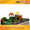 114mm galvanisiertes Pfosten-bunte Einfachheits-Kind-im Freienspielplatz-Gerät