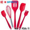 5 pièces Ustensiles de cuisine Eco-Friendly Silicone Accessoires de cuisine Outils de cuisine