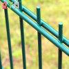 Double Fil galvanisé de clôtures de jardin double clôture métallique soudé
