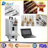Marcador de CNC máquina láser de fibra de madera/Metal