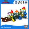 Equipamento ao ar livre plástico favorito do campo de jogos do teatro das crianças da série do pirata