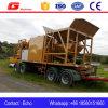 la nueva condición 25m3/H fácil funciona la planta de procesamiento por lotes por lotes concreta móvil
