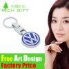 Marchio su ordinazione Keychain di marca del veicolo per il trasporto del metallo di marchio in lega di zinco