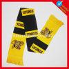 Дешевой связанный таможней акриловый шарф футбола