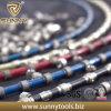 Le meilleur granit de qualité habillant le fil de diamant a vu