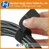 Многоразовый печать Сверхмощные крюк и обратной связью с липучкой провод/ кабельной стяжки