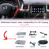 Caixa Android da navegação do GPS dos multimédios da relação do carro HD do melhoramento para (10-16) VW 8  Touareg (SISTEMA RNS850)