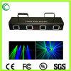 Quatre vert de la tête&étape bleue de la lumière laser