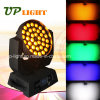 5en1 36 * 15W RGBWA zumbido LED Mini Wash