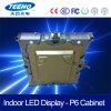 Affichage à LED polychrome d'intérieur de coulage sous pression de l'aluminium P6 SMD