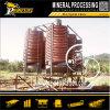 Máquina del concentrador del espiral del mineral de la gravedad de la maquinaria de la separación de la minería aurífera