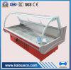 Refrigerador de Aire-Enfriamiento de la exhibición de la carne del diseño para el supermercado