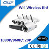 набора наблюдения 4CH 1080P система безопасности CCTV дома видео- беспроволочная