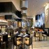 중국 Wooden 및 Fabric Dining Restaurant Chair