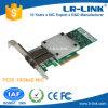 Adaptador original duplo do server do chipset 10gbps da porta SFP+ Intel 82599es da fábrica 10GB da LR-Ligação similar ao cartão de rede X520-Da2