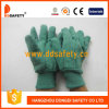 Ddsafety 2017 золотистой зеленой перчаток безопасности запястья руки работы по дома связанных перчаткой