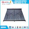 Collettore solare Keymark piano, collettore di alluminio di rame del condotto termico del tetto