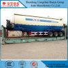 Du carbone d'acier de camion-citerne en vrac de la colle remorque semi avec le moteur diesel et le compresseur d'air
