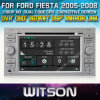 フォードFiesta 2005-2008年のCarのためのWitson Car DVD DVD GPS 1080P DSP Capactive Screen WiFi 3G Front DVR Camera