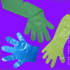 Устранимые перчатки LDPE