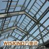 Große Überspannung fabrizierte Stahlkonstruktion-Halle vor