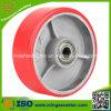 Mingze 6  Ladeplatte PU-Rad, Hochleistungsfußrolle